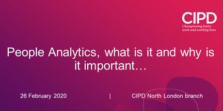 People Analytics, what is it and why is it important… tickets