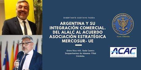 """Disertación a Beneficio del Merendero """"El quebracho"""" entradas"""