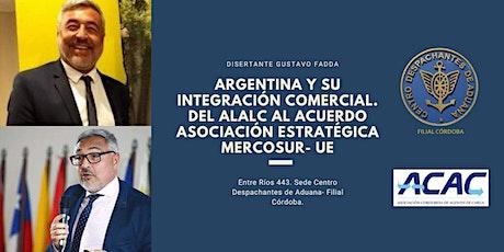"""Disertación a Beneficio del COMEDOR  """"EL QUEBRACHO"""" entradas"""