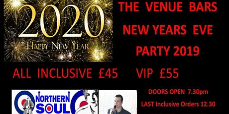 New  Years Eve Party - All Incluive £45 tickets
