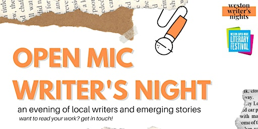 Open Mic Writer's Night - Weston Literary Festival