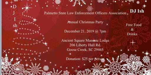 Palmetto State Law Enforcement Officers Association Annual Christmas Party