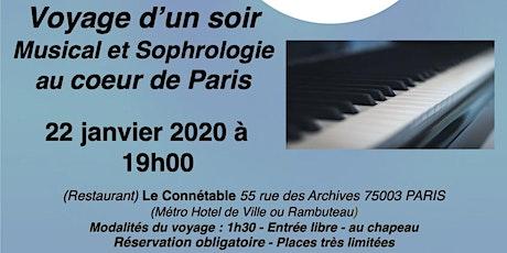 Voyage musical et sophrologie tickets