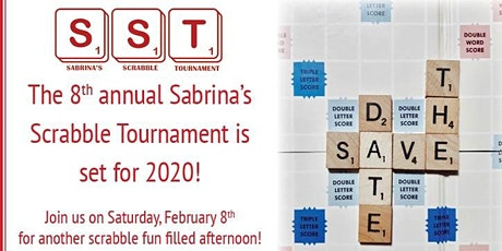 The 8th annual Sabrina's scrabble tournament tickets