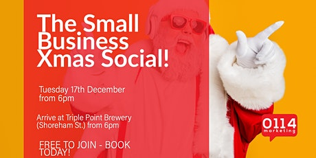 The Small Business Xmas P**s up in a Brewery tickets