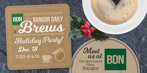 Bangor Daily Brews Holiday Thank you