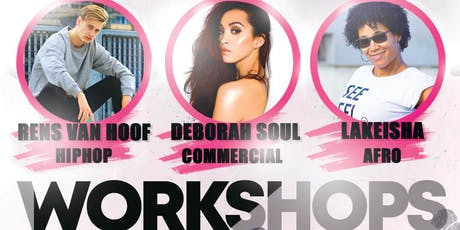 Dance Workshops - Dansschool UC Dance tickets