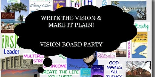 FREE Vision Board Party 2020 (Write The Vision & Make It Plain)