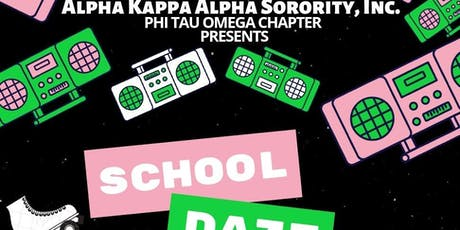 Phi Tau Omega's School Daze Skate Party tickets