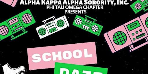 Phi Tau Omega's School Daze Skate Party