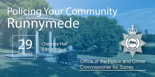 Policing your Community - Runnymede Open Engagement Meeting