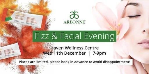 Arbonne Fizz & Facial Pamper Evening