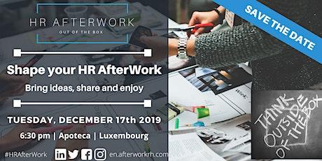 HR AfterWork Luxembourg - December 2019 - Shape your HR AfterWork tickets
