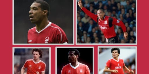 An evening with Nottingham Forest Legends