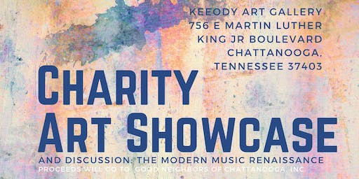 Charity Art Showcase and Discussion: The Modern Music Renaissance