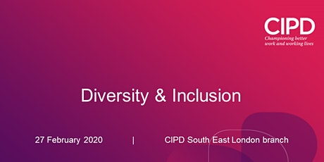 Diversity & Inclusion tickets
