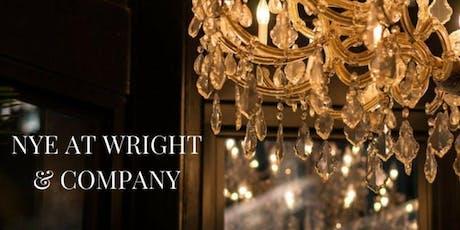 New Year's Eve at Wright & Company tickets