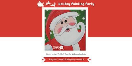 Jolly Santa - Painting Party - 12/21 tickets