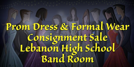 Lebanon Band Prom Dress & Formal Wear Consignment Sale tickets