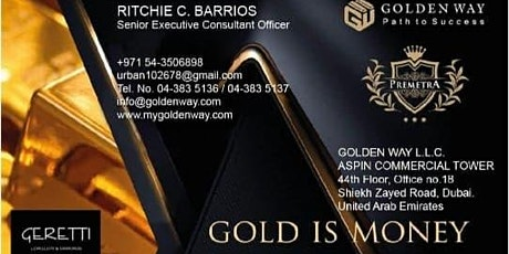 ONLINE SHOP BUSINESS AND GOLD INVESTMENT tickets