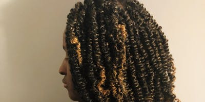 Flat Twist (with & without extensions)