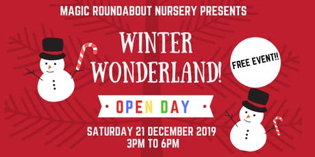 Free open day - WINTER WONDERLAND - MRN Kennington tickets