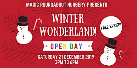 Free open day - WINTER WONDERLAND - MRN Kennington tickets