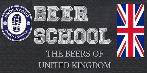Endeavour Brewing Beer School 202 - Beer of United Kingdom