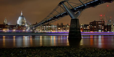 London nightshoot at low tide on the Thames tickets