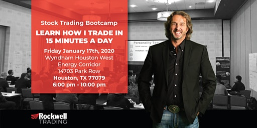 Rockwell Stock Trading Bootcamp - HOUSTON, January 17th