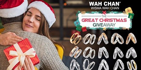 """Wah Chan """"GREATEST CHRISTMAS GIVEAWAY"""" tickets"""