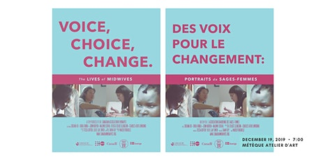 Copy of Film Screening -  Voice. Choice. Change: The Lives of Midwives tickets