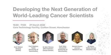 Developing the Next Generation of World-Leading Cancer Scientists tickets