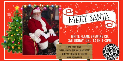 Meet Santa at White Flame Brewing