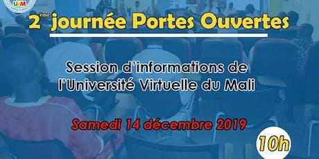 2ème Session d'informations de L'Université virtuelle du Mali tickets