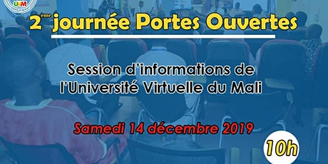 2ème Session d'informations de L'Université virtuelle du Mali tickets