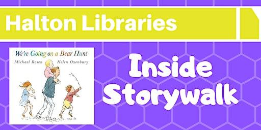 Inside Storywalk - Halton Lea Library