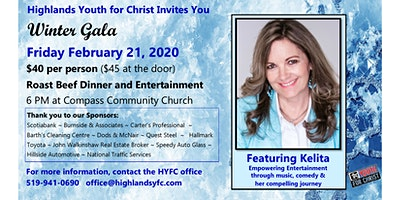 Highlands Youth For Christ 2020 Winter Gala