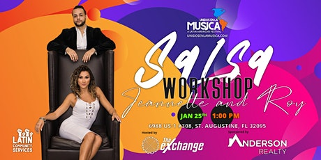 Two 1 Hour Salsa Workshops with Jeannette & Roy !! tickets
