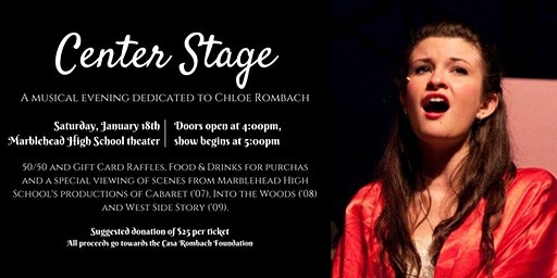 Center Stage - A Musical Evening Dedicated to Chloe Rombach