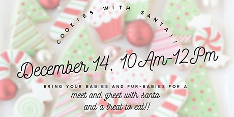 Free Community Event: Cookies and Cocoa with Santa tickets