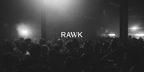 RAWK pres. Klanglos & Ben Dust at Muk Gießen Tickets