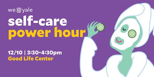 WE@Yale Self-Care Power Hour