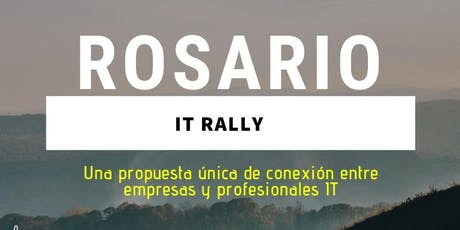 Rosario IT Rally entradas