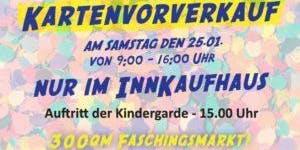 Wasserburger Kindergarde zu Besuch im Innkaufhaus