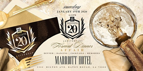 The Perfect 10 Formal Dinner:  20 Year Kickoff Celebration tickets