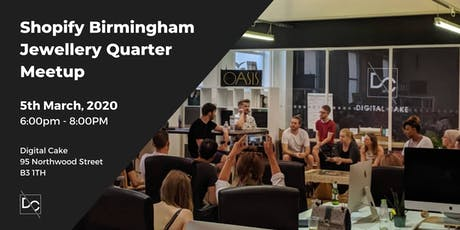 Shopify Birmingham Jewellery Quarter Meetup | March 20 tickets