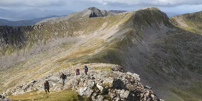 Classic Ring of Steall - Scottish Women's Walking Group