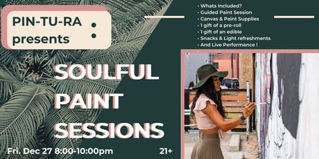 PIN-TU-RA: Soulful Paint Sessions - 420 Friendly - Washington DC - 21+ tickets
