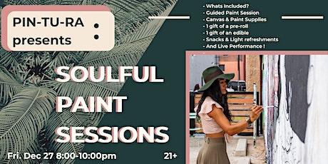 PIN-TU-RA: Soulful Paint Sessions - 420 Friendly - Washington DC - 21+ tickets